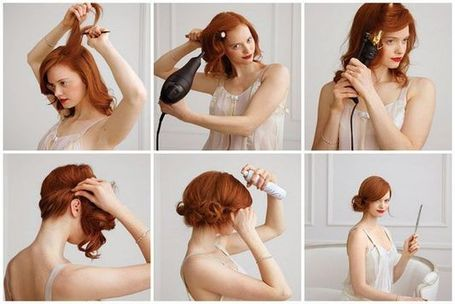 DIY-HairStyle-Do It Yourself-Hair-Amazing-HairStyle-Style-Fashion-Beauty-Haircut-Curls-Rollers-Perms-Updos (13)