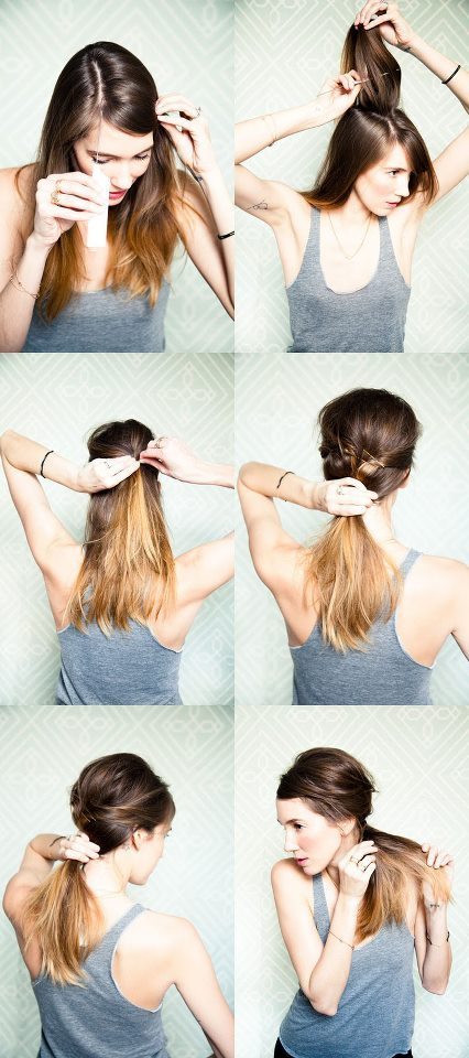 DIY-HairStyle-Do It Yourself-Hair-Amazing-HairStyle-Style-Fashion-Beauty-Haircut-Curls-Rollers-Perms-Updos (18)