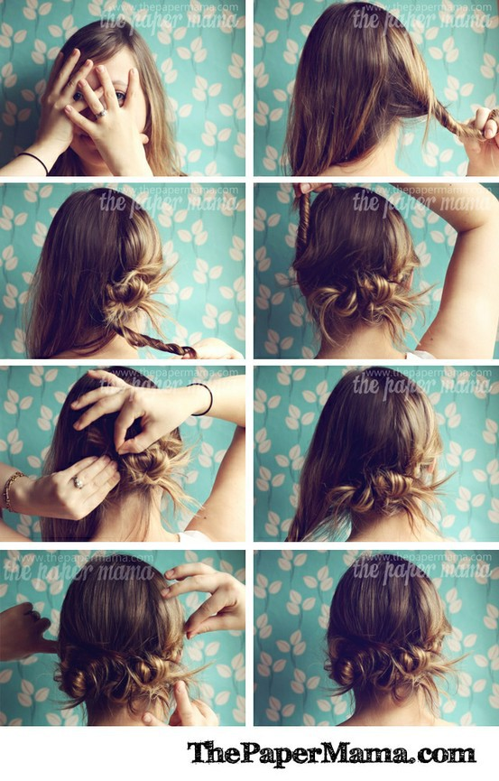 DIY-HairStyle-Do It Yourself-Hair-Amazing-HairStyle-Style-Fashion-Beauty-Haircut-Curls-Rollers-Perms-Updos (2)